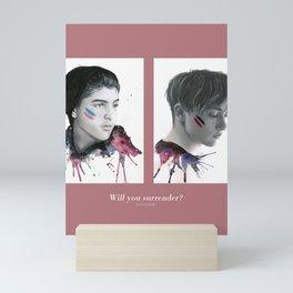 SKAM / DRUCK - David & Matteo Mini Art Print