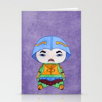 conan Stationery Cards featuring A Boy - Man-at-arms by Christophe Chiozzi