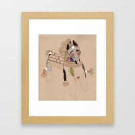 Indian Horse Framed Art Print