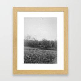 From The Hill Framed Art Print