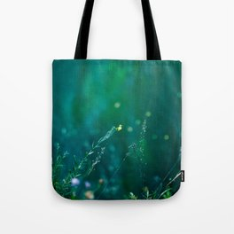 Fairy Tail - Flower on the Water - Magic Grass Tote Bag