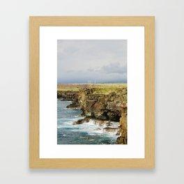 Wind Ranch. Framed Art Print
