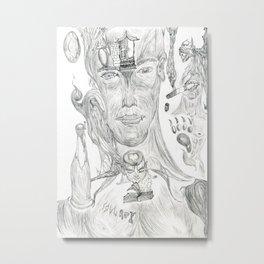 Soul Metal Print