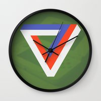 gaming Wall Clocks featuring Polygon Gaming by Thomas Official