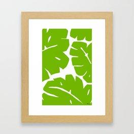 Jungle Leaf Framed Art Print