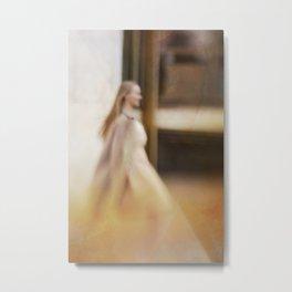 Walking woman 5 Metal Print