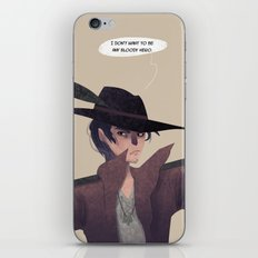Bloody Hero iPhone & iPod Skin