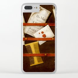 Edwaert Colyer -  Still Life Clear iPhone Case