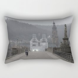 Heidelberg Cyclist Rectangular Pillow