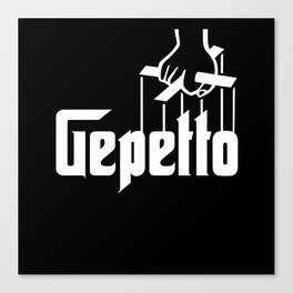 Gepetto Canvas Print