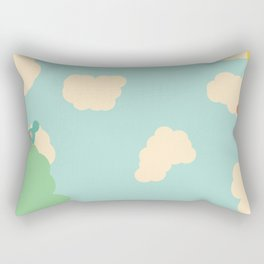 Birds in the Sky Rectangular Pillow