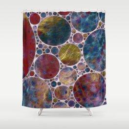Abstract - Illumination Shower Curtain