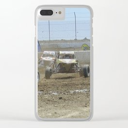 2017 Chicagoland Slam Buggies Clear iPhone Case
