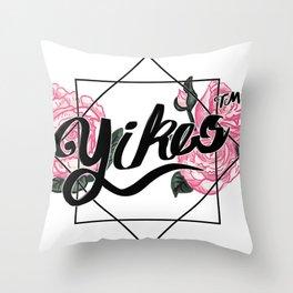 YIKES (tm) Throw Pillow