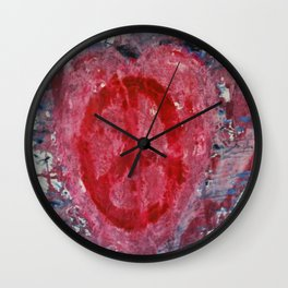 Peaceful Heart Wall Clock