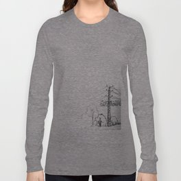 view from train Long Sleeve T-shirt