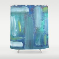disco Shower Curtains featuring Disco by Cailin Rawlins