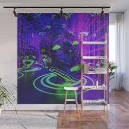 Lazzzers Wall Mural