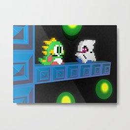 Inside Bubble Bobble Metal Print
