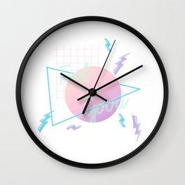 Neon Feels So Good Wall Clock