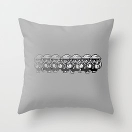 Wario Dash Throw Pillow