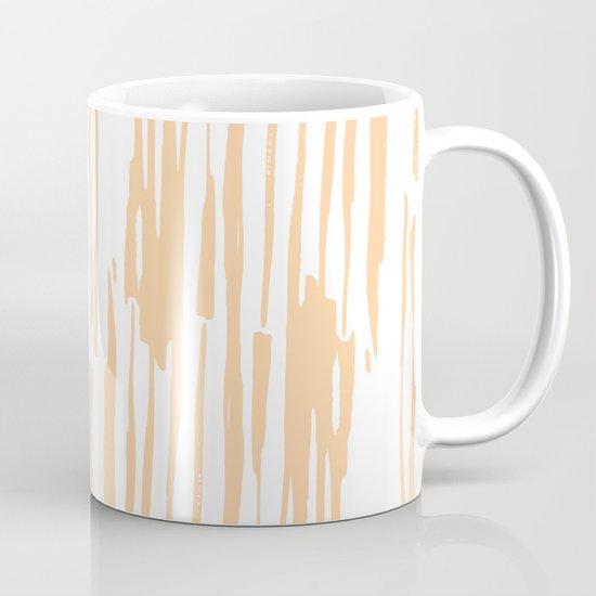 Modern Coral Stripes IV by followmeinstead