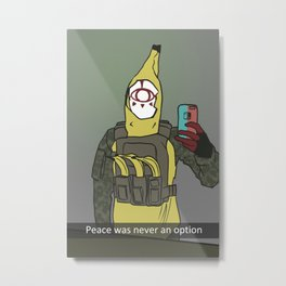 Yiga Banana War Metal Print
