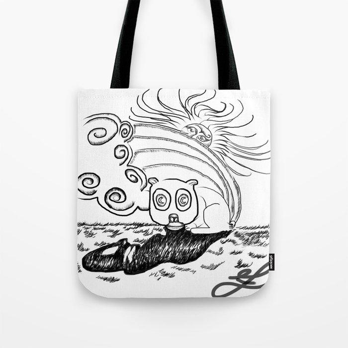 Springtime Luls Tote Bag