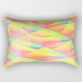 Bright Interference Rectangular Pillow
