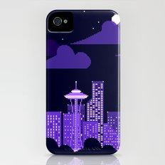 rainy city iPhone (4, 4s) Slim Case