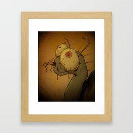 Steven the Snail Framed Art Print