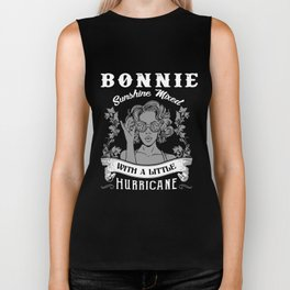 bonnie sunshine mixed with a little hurricane beautifull sexy boob wife Biker Tank