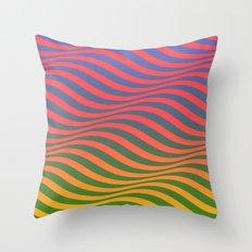 Waves#6 Throw Pillow