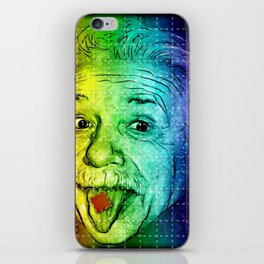 It's LSD, Einstein! iPhone Skin