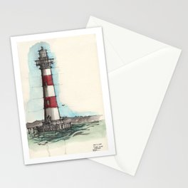 Morris Island Lighthouse Stationery Cards