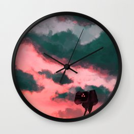 A Blessed Day Wall Clock