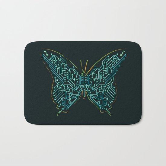 Mechanical Butterfly Bath Mat