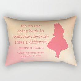Alice in Wonderland Rectangular Pillow