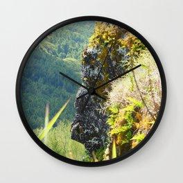 Face Wall Clock