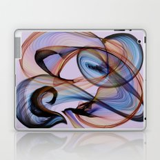 Bird Flame Purple Laptop & iPad Skin