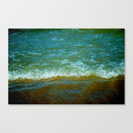 Colored Waters Canvas Print