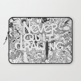 Doddle | Never Quit Drawing Laptop Sleeve