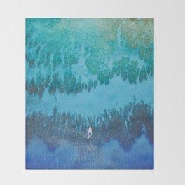 Roatan Island, Honduras Throw Blanket