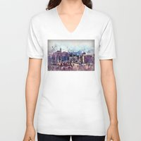rome V-neck T-shirts featuring Rome by jbjart