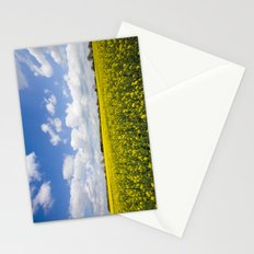 FIELD OF RAPESEED Stationery Cards