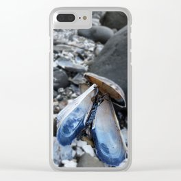 The World is Your Mussel Clear iPhone Case