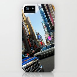 New York City Time Square NYC iPhone Case