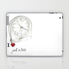 Just in time Laptop & iPad Skin