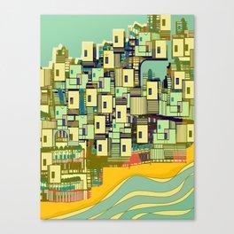 Mediterranean Coast Canvas Print
