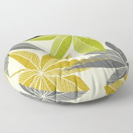 Modern Hawaiian Print Floor Pillow
